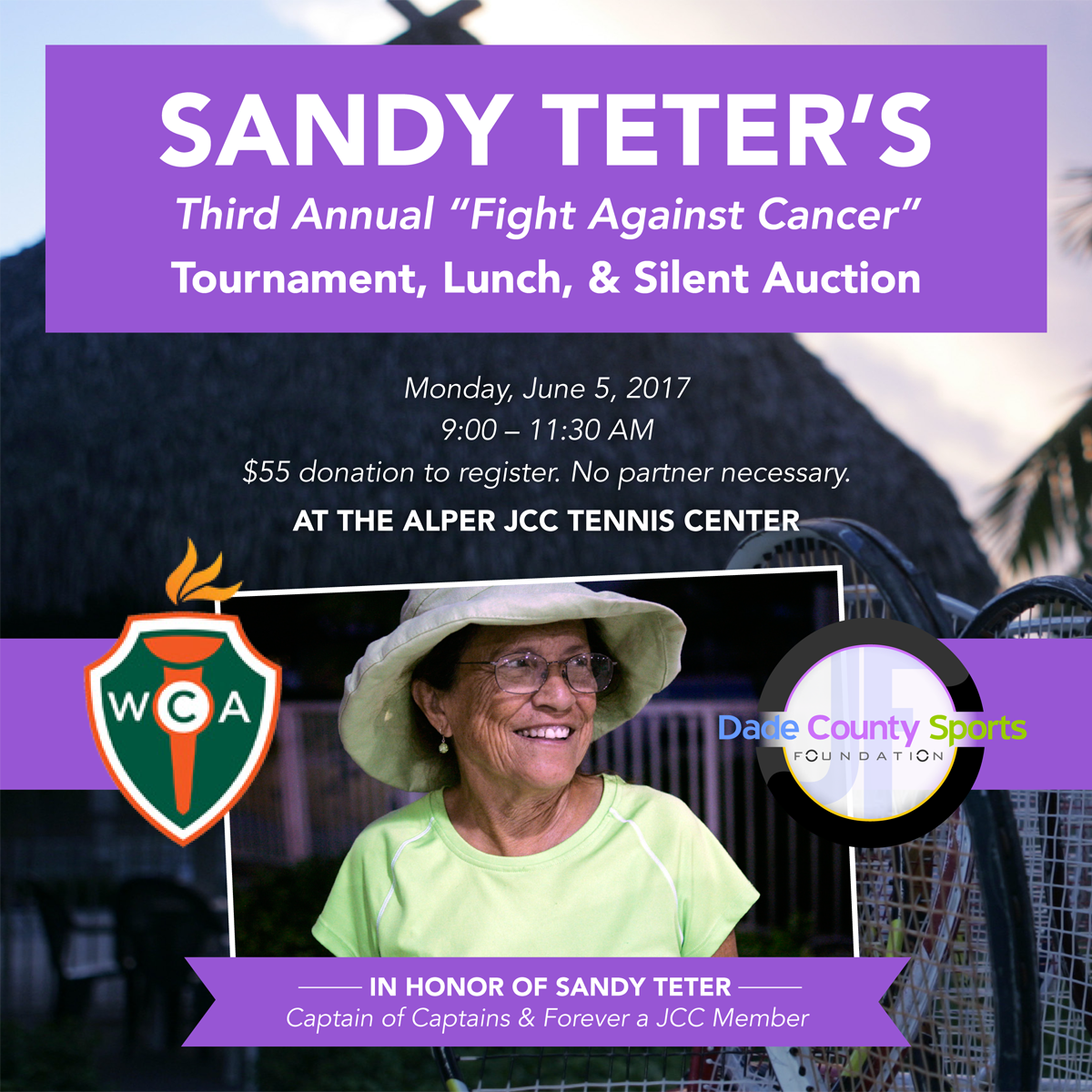 Sandy Teter's Third Annual Fight Against Cancer Tournament 2017
